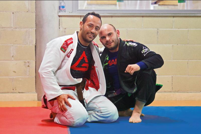 professor Renato Rodrigues (@renato_rodriguesgb) e professor Vincenzo Santoro